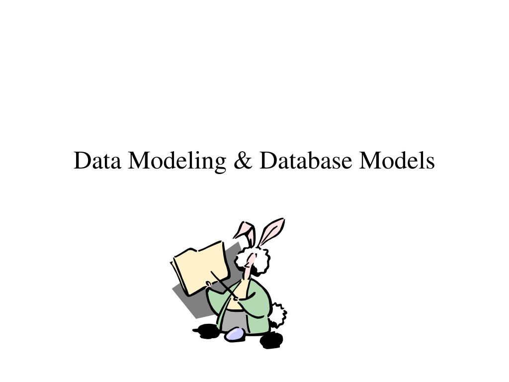 Data Modeling & Database Models