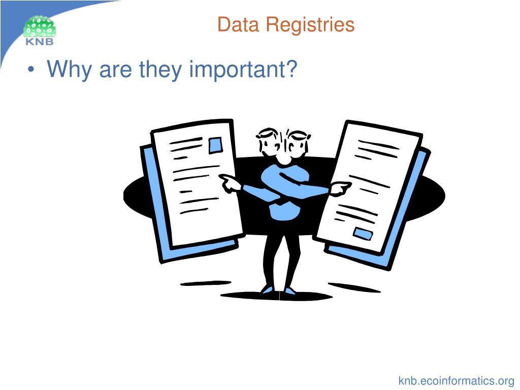 Data Registries