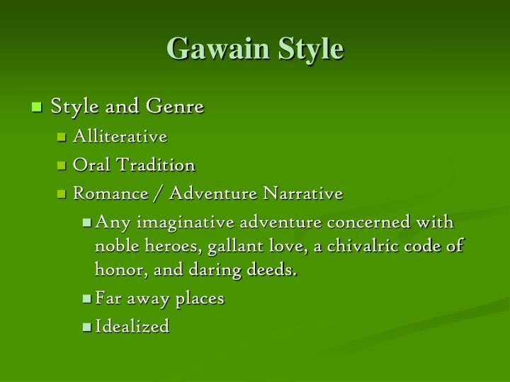 Gawain Style