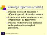 learning objectives cont d7