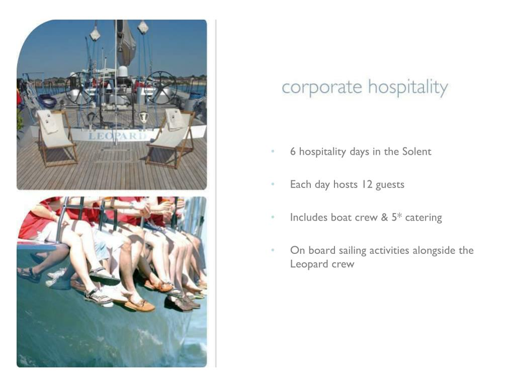 6 hospitality days in the Solent