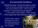 environmental conditions