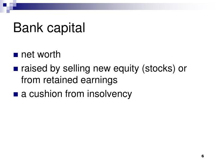 Bank capital