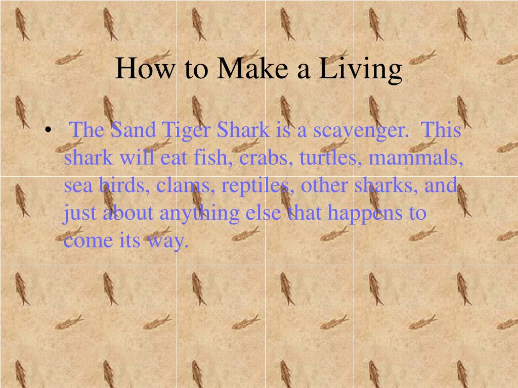 How to Make a Living