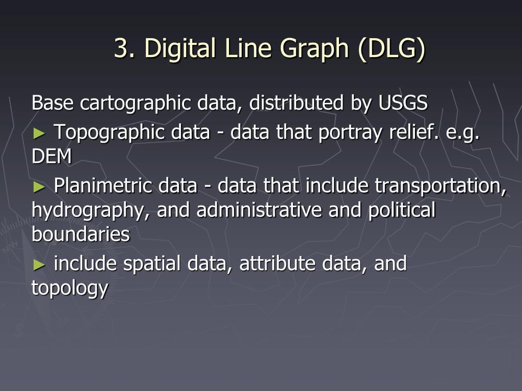 3. Digital Line Graph (DLG)