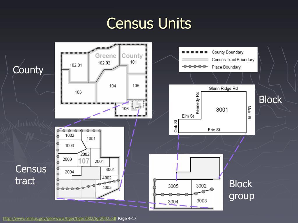 Census Units