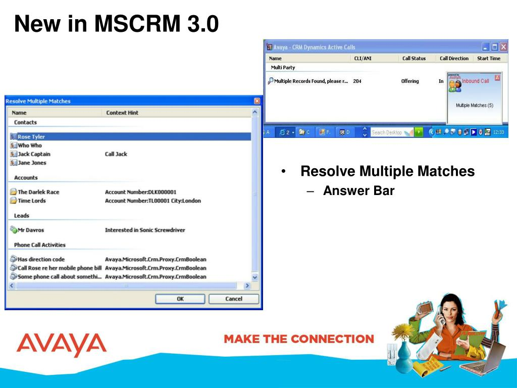 New in MSCRM 3.0