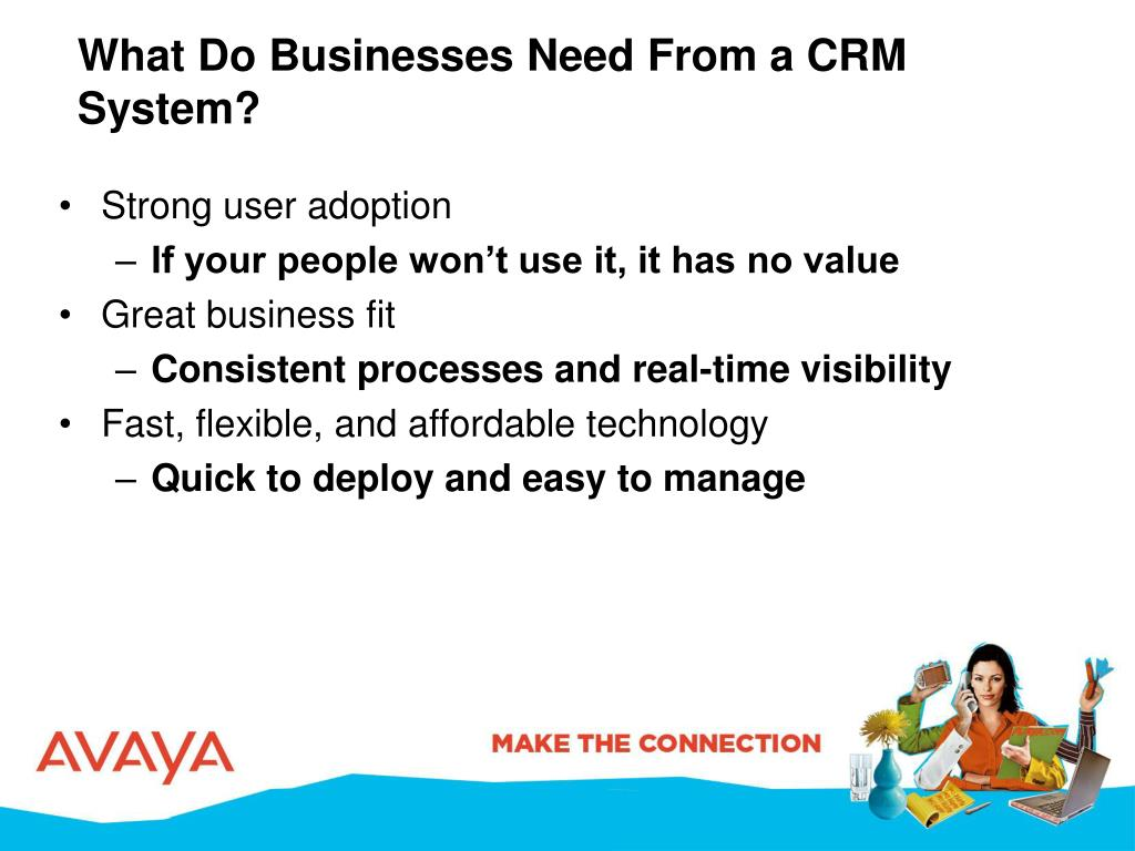 What Do Businesses Need From a CRM System?