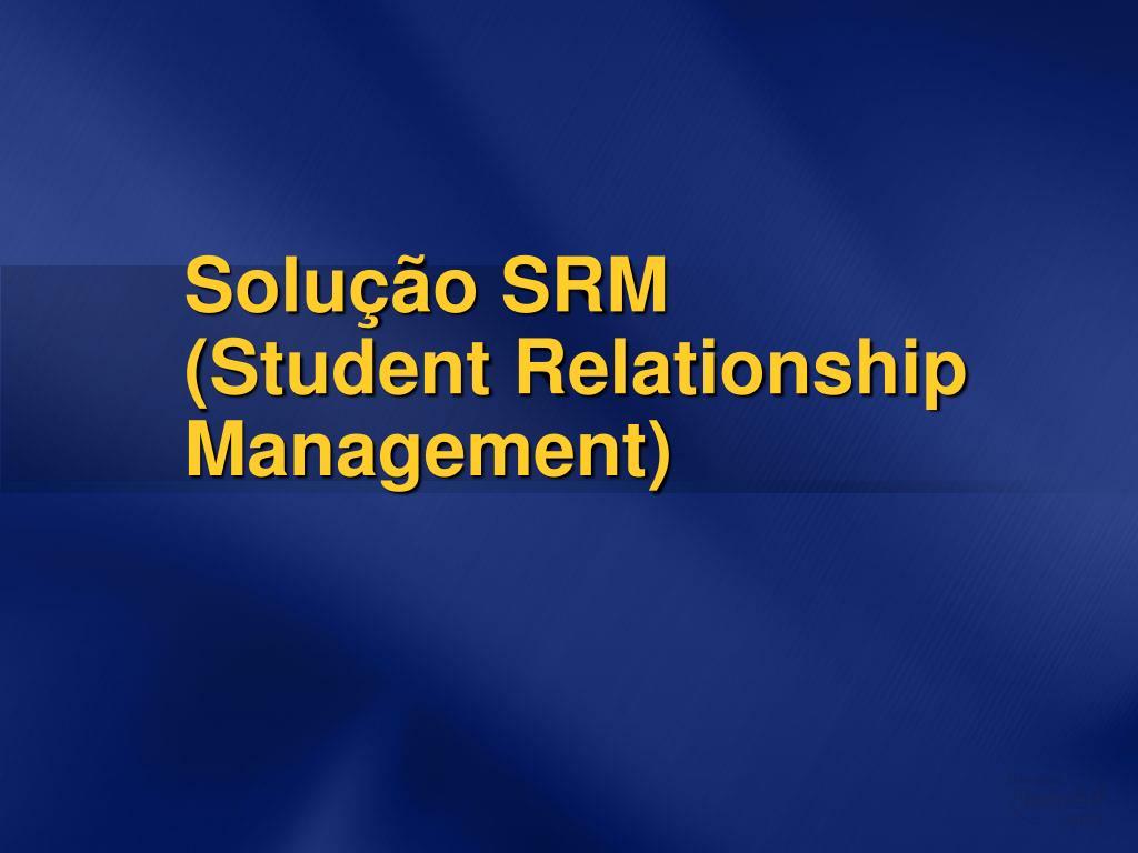 Solução SRM