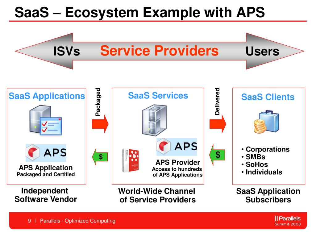 SaaS – Ecosystem Example with APS