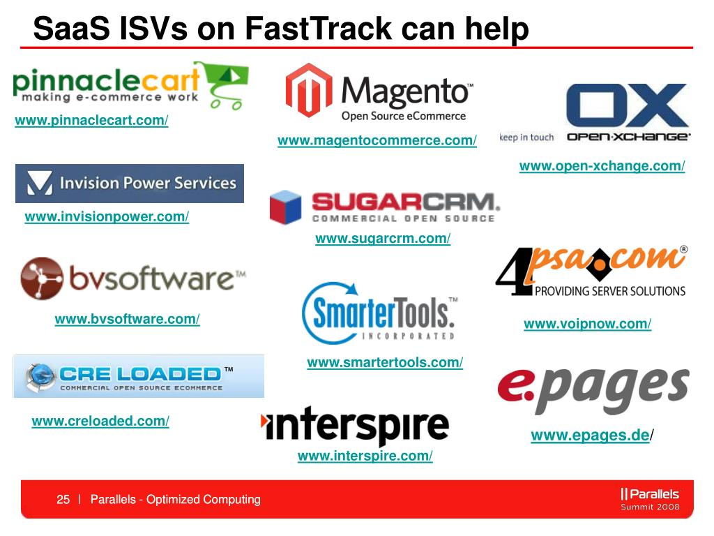SaaS ISVs on FastTrack can help