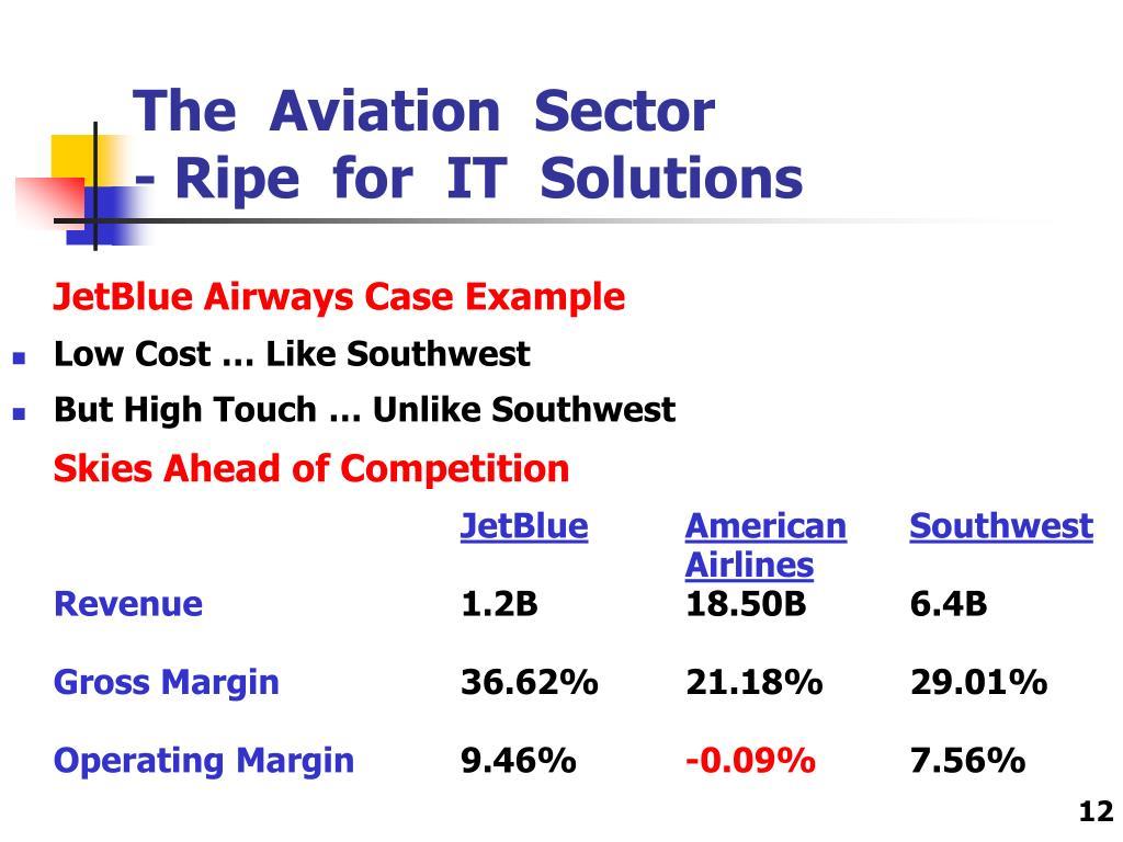 JetBlue Airways Case Example