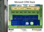 microsoft crm stack