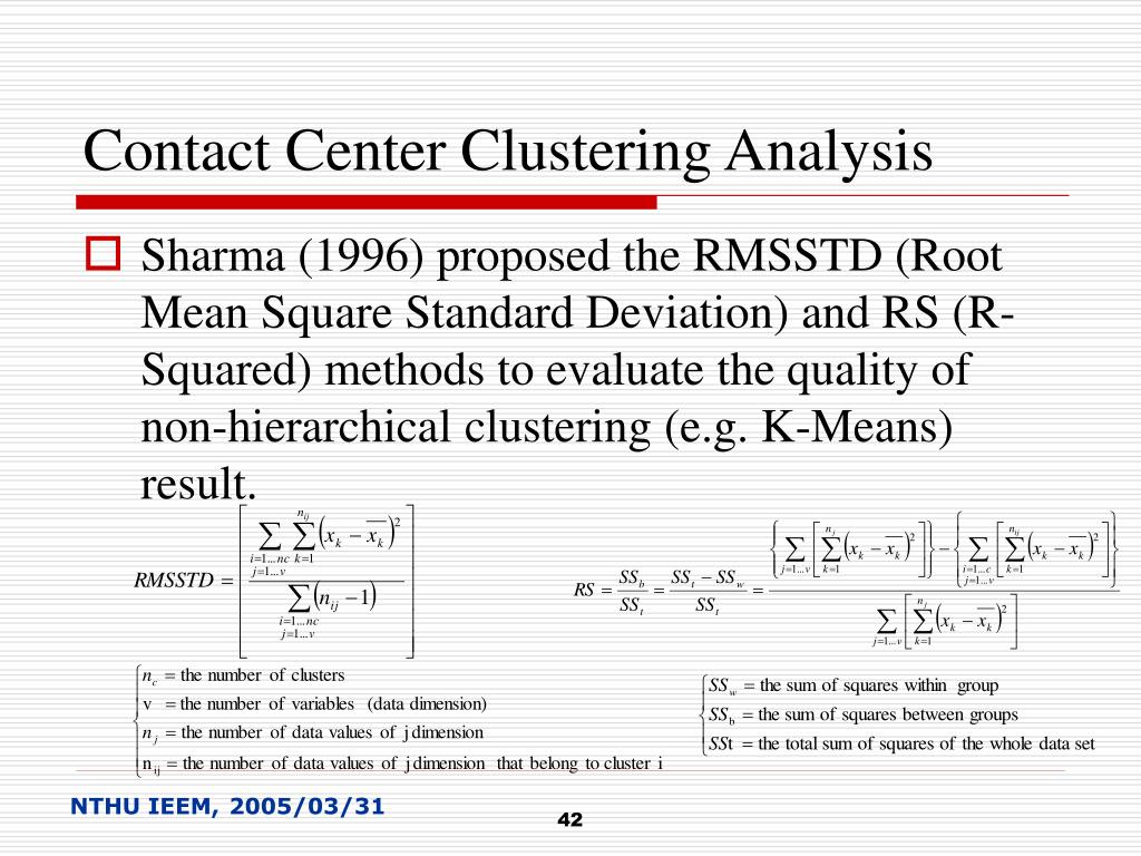 Contact Center Clustering Analysis