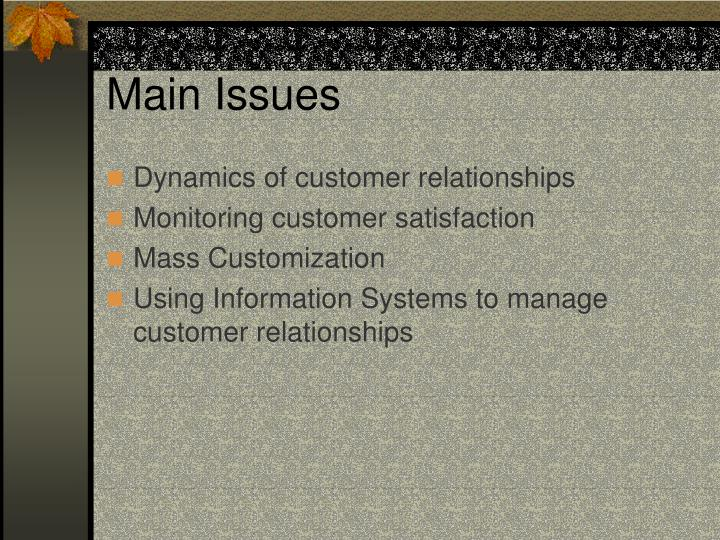 Main issues l.jpg