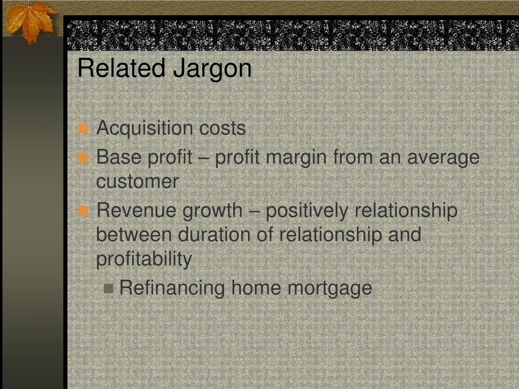 Related Jargon