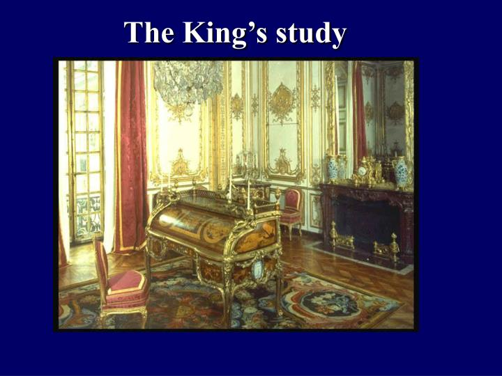 The King's study