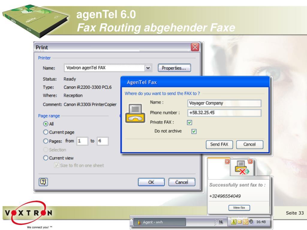 agenTel 6.0