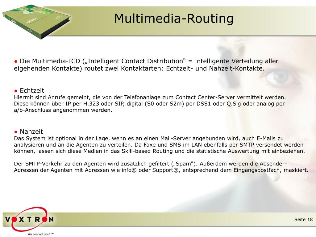 Multimedia-Routing