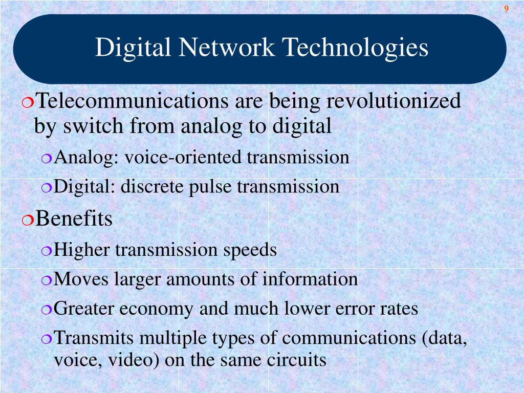 Digital Network Technologies