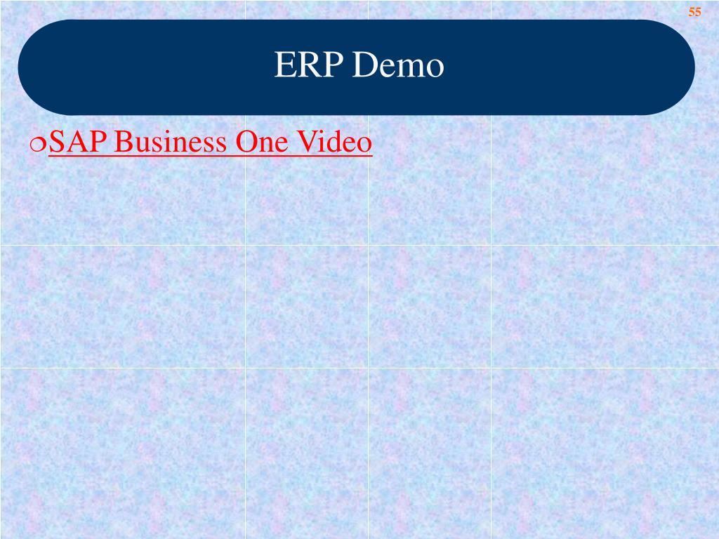 ERP Demo