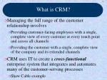 what is crm