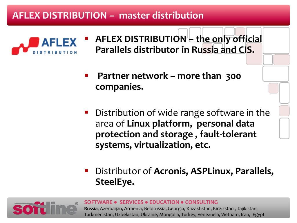 AFLEX DISTRIBUTION –  master distribution