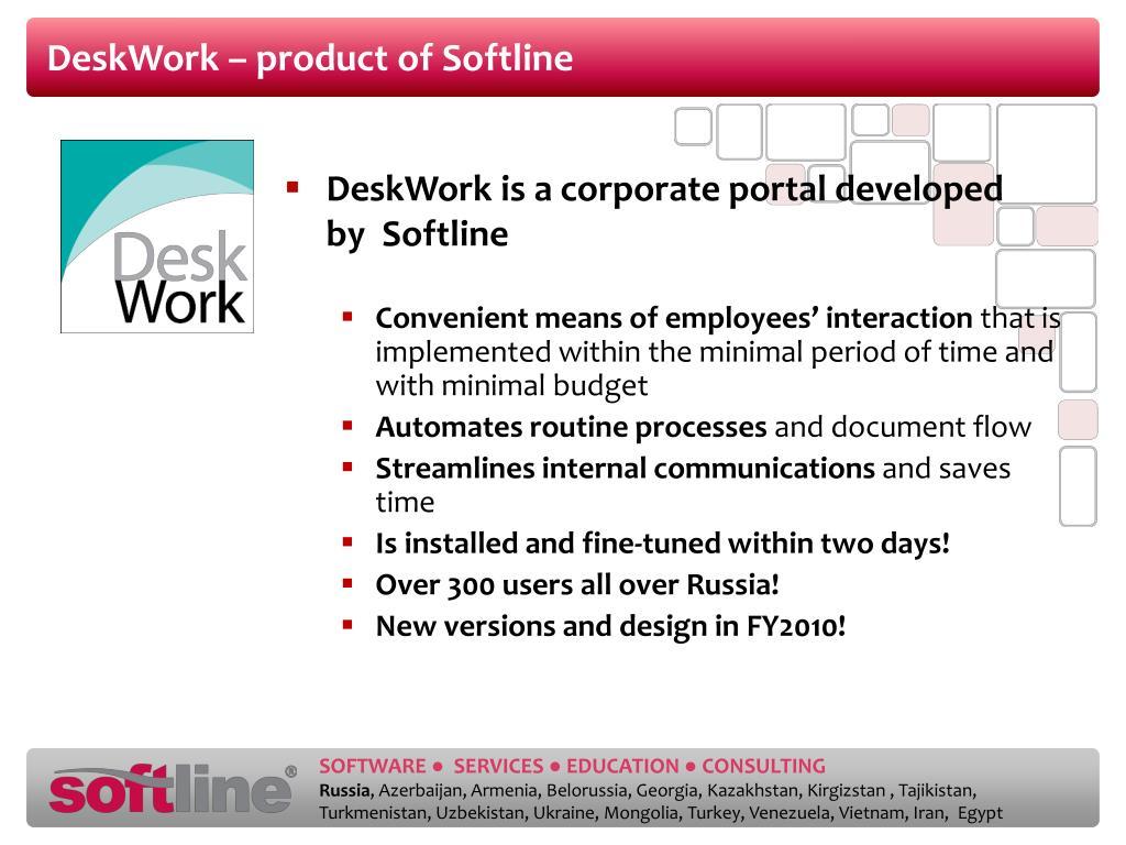 DeskWork – product of Softline