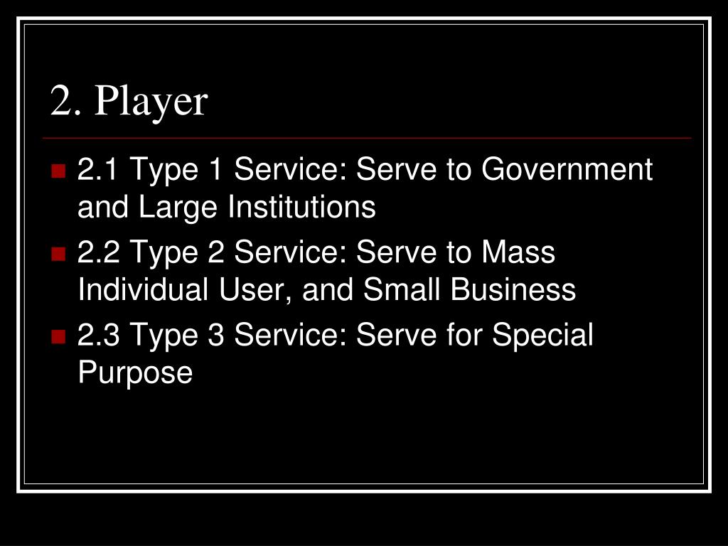 2. Player
