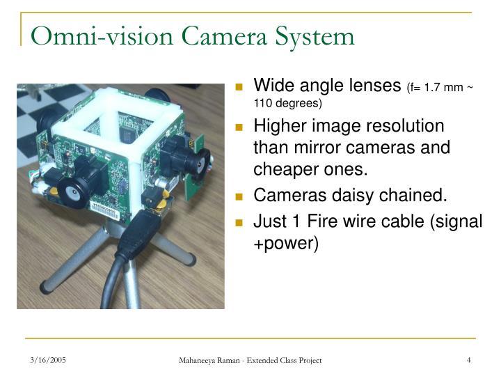 Omni-vision Camera System