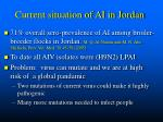 current situation of ai in jordan
