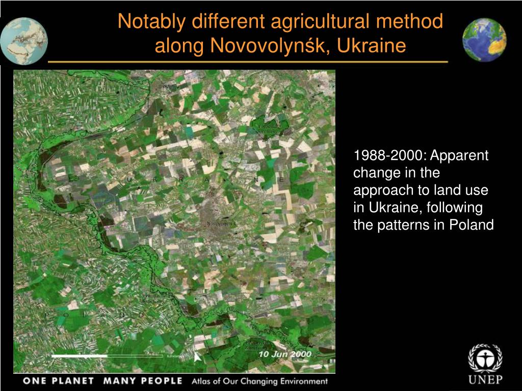 Notably different agricultural method along