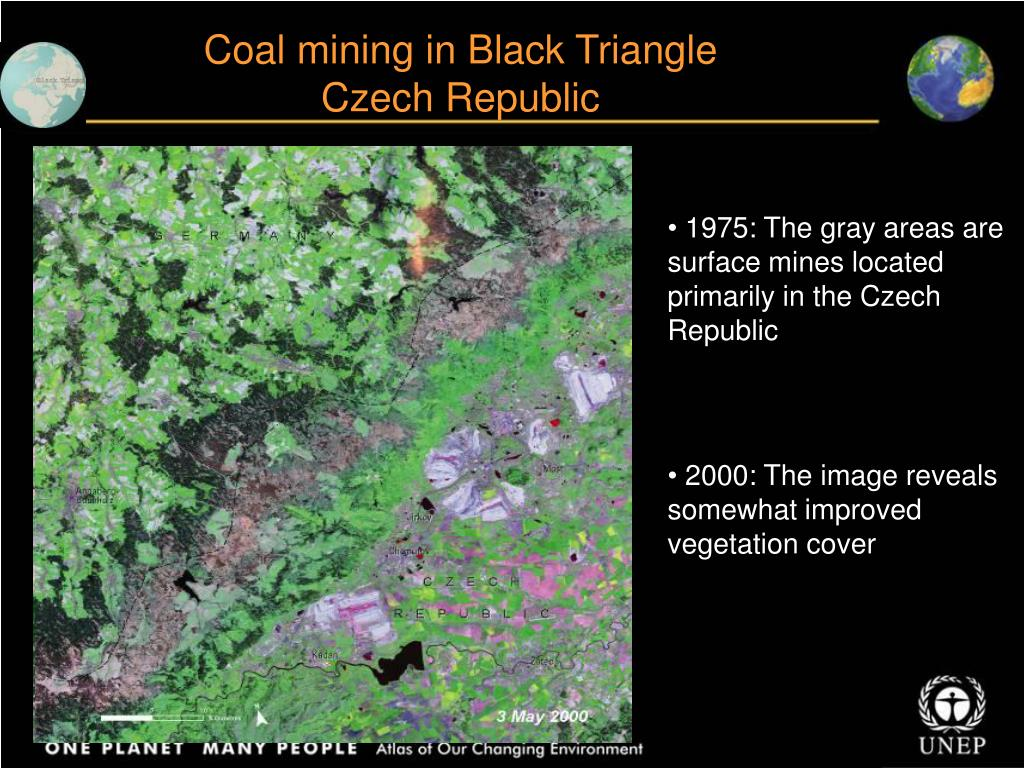Coal mining in Black Triangle