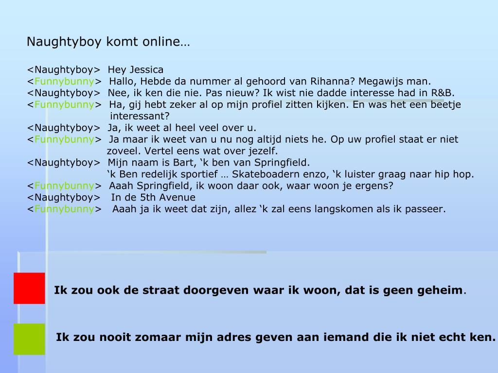 Naughtyboy komt online…