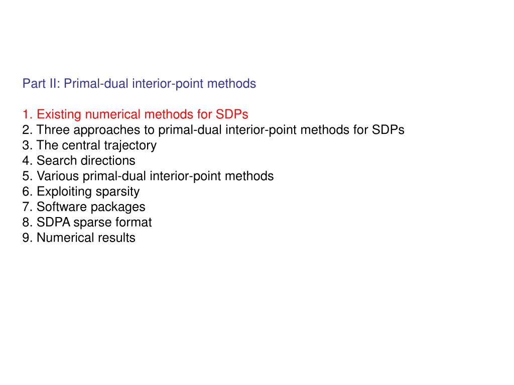 Part II: Primal-dual interior-point methods
