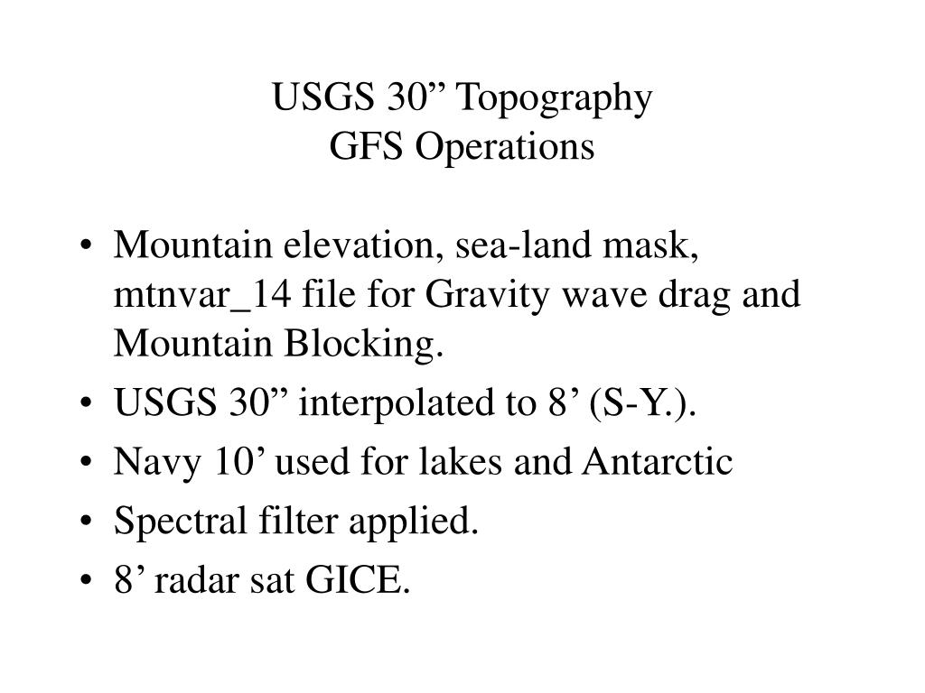 "USGS 30"" Topography"
