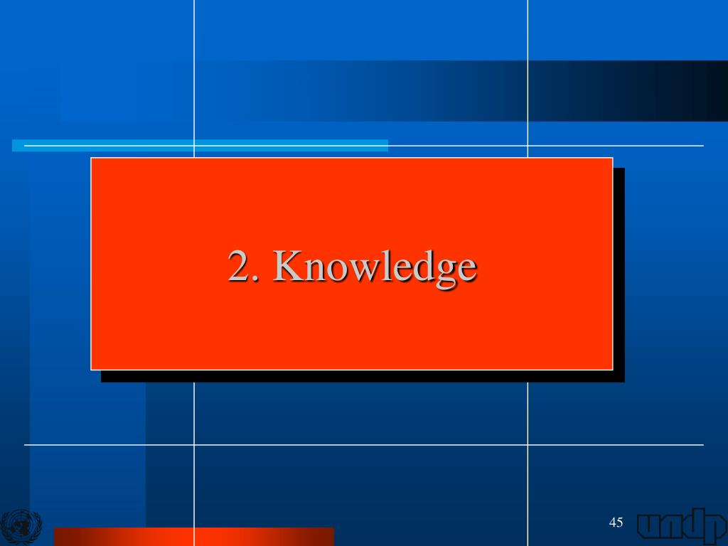 2. Knowledge