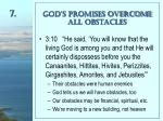 god s promises overcome all obstacles