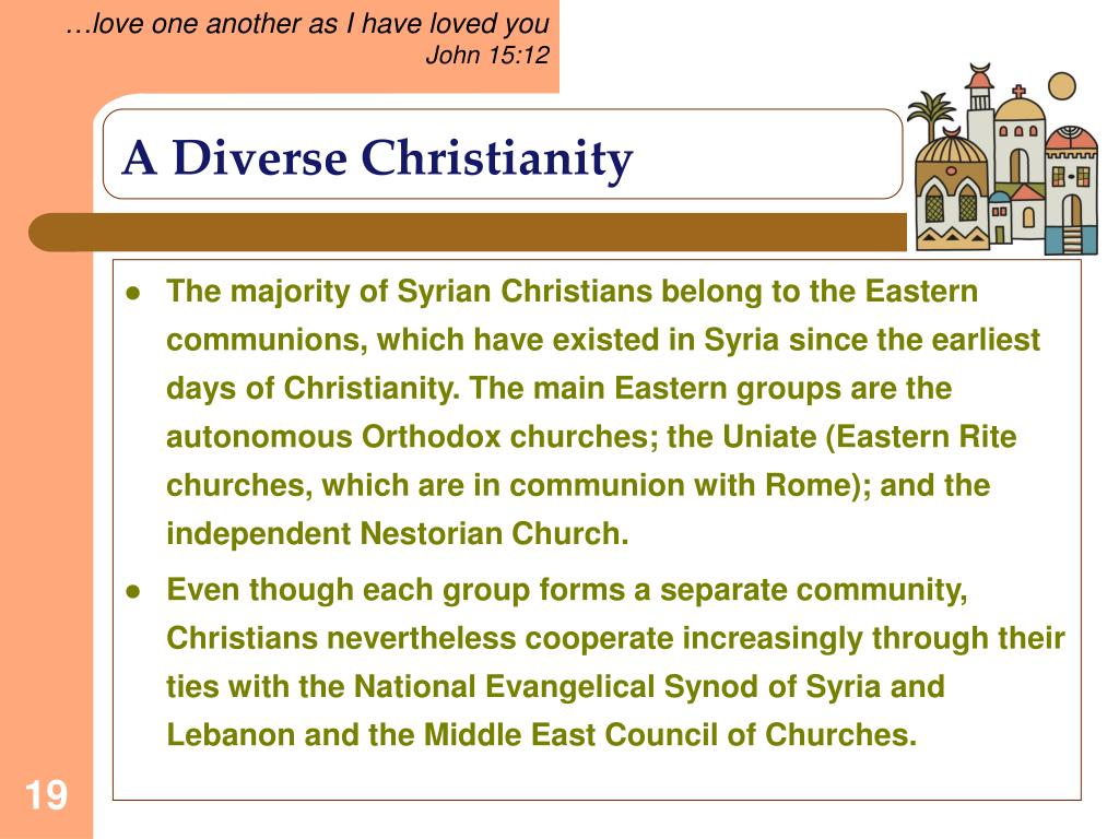 A Diverse Christianity