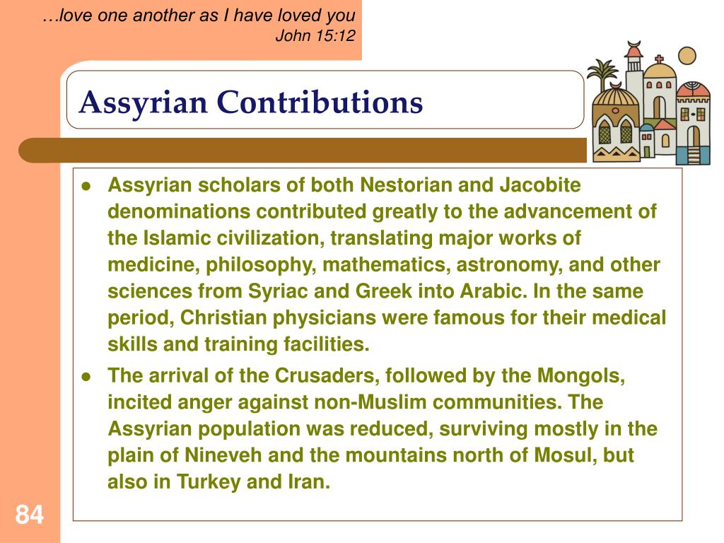 Assyrian Contributions