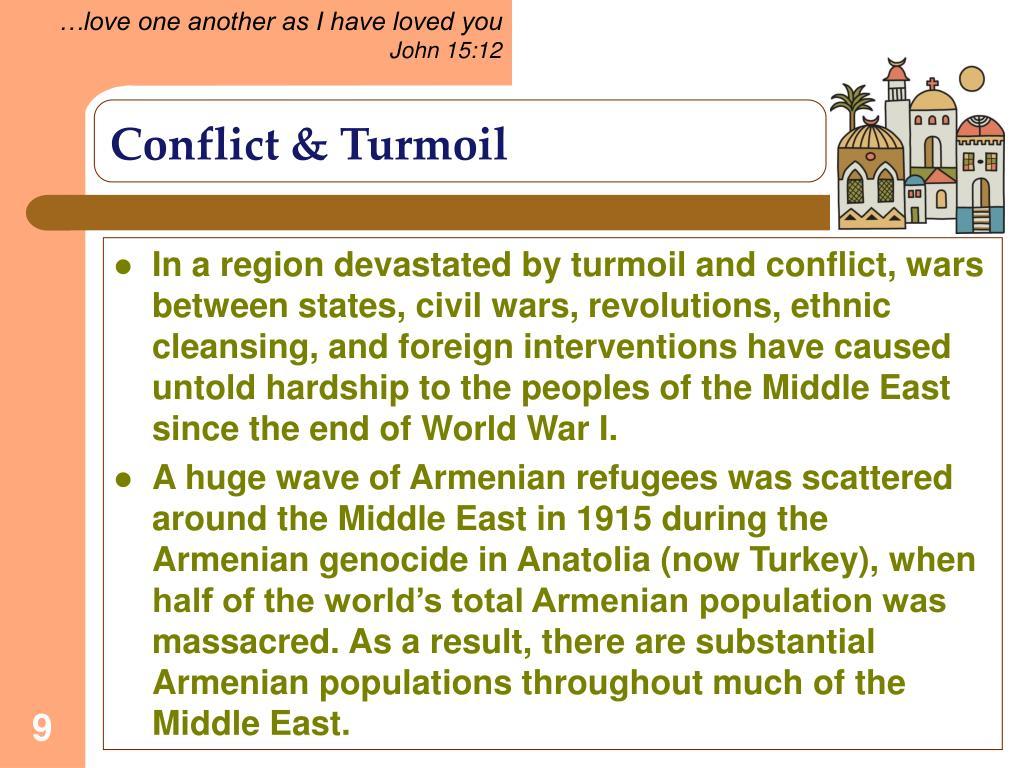 Conflict & Turmoil