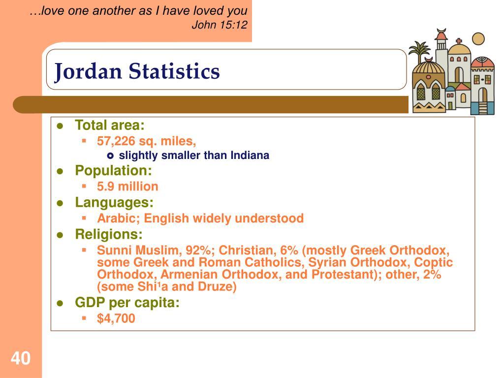 Jordan Statistics