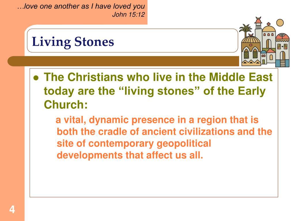 Living Stones