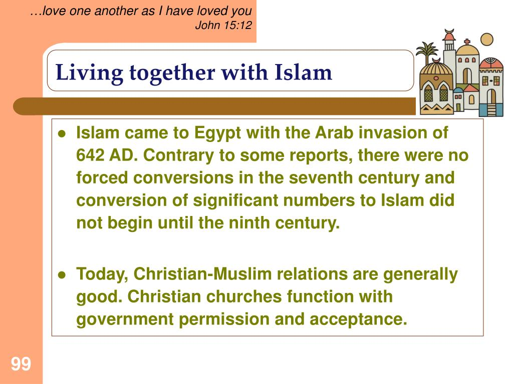 Living together with Islam