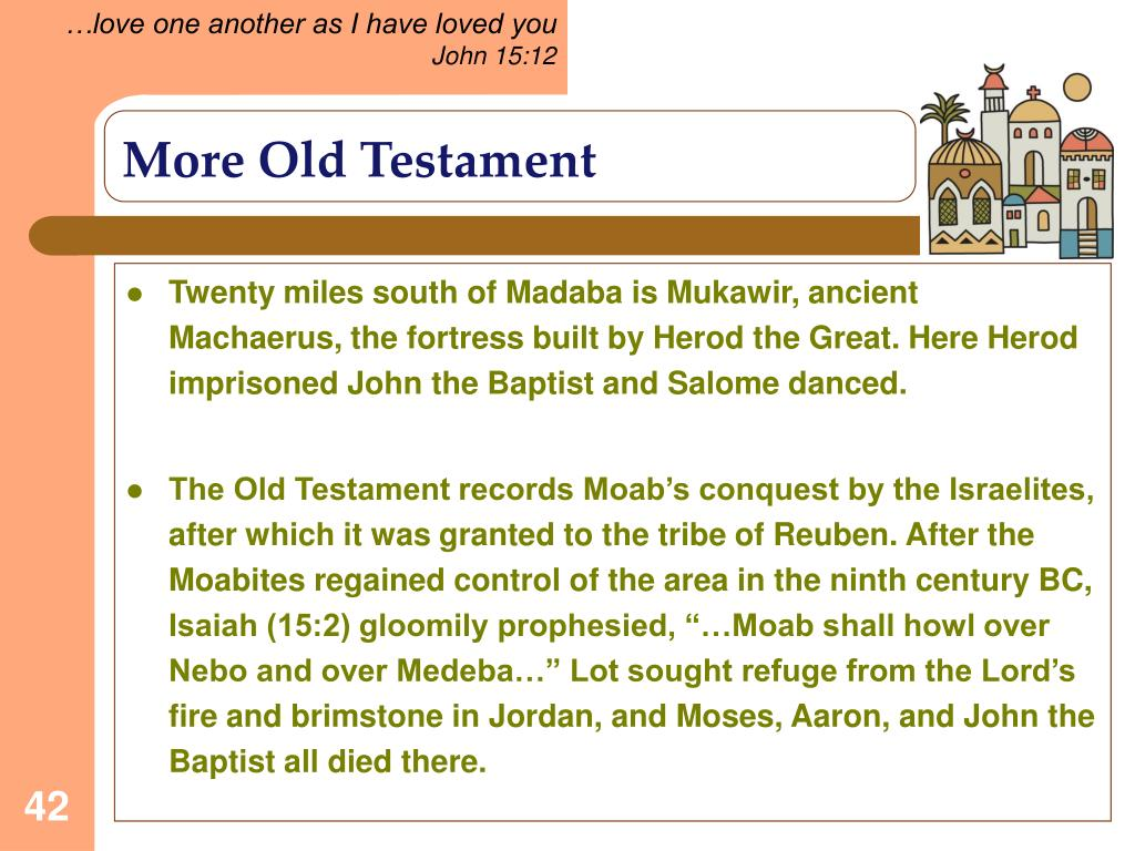 More Old Testament