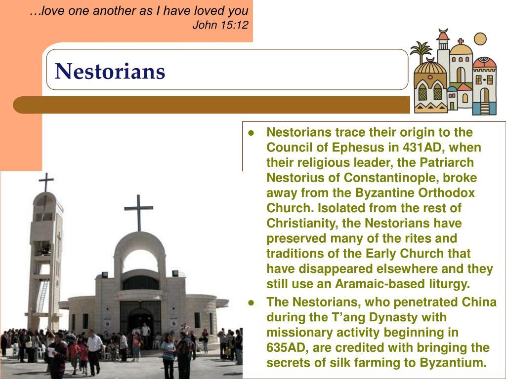 Nestorians