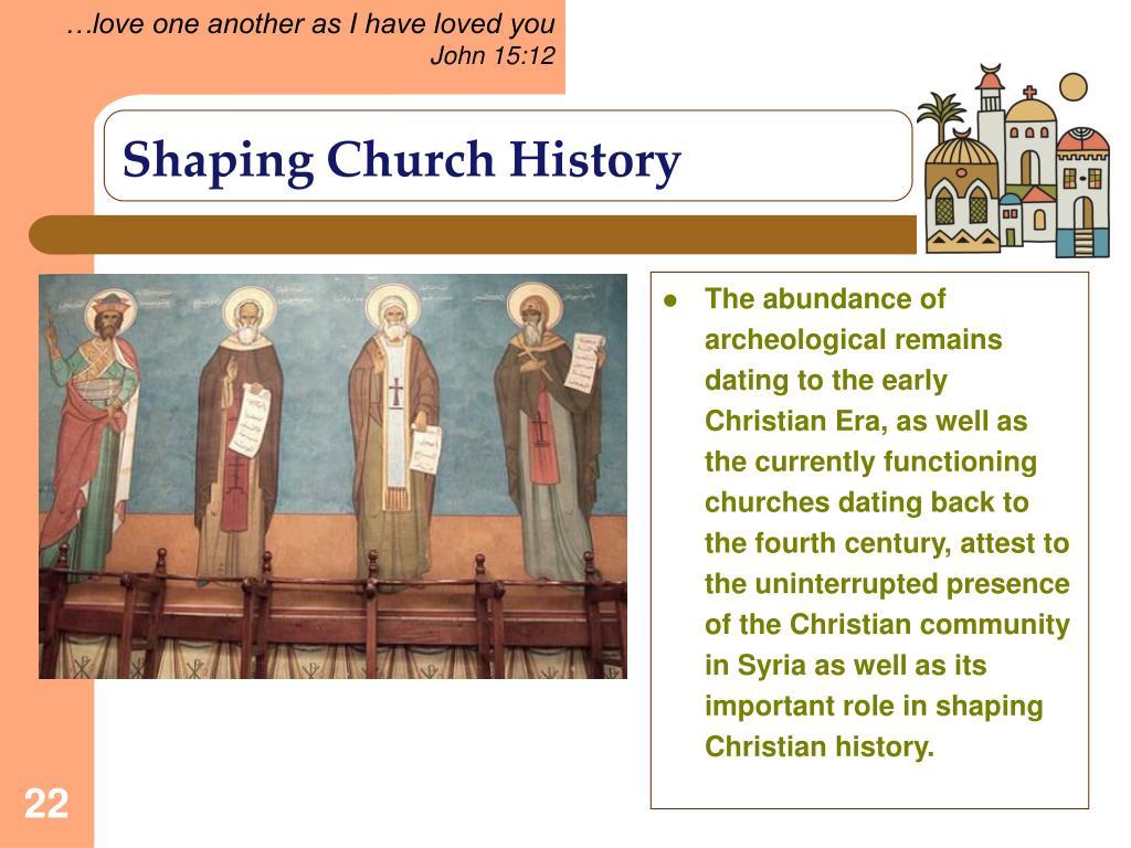 Shaping Church History