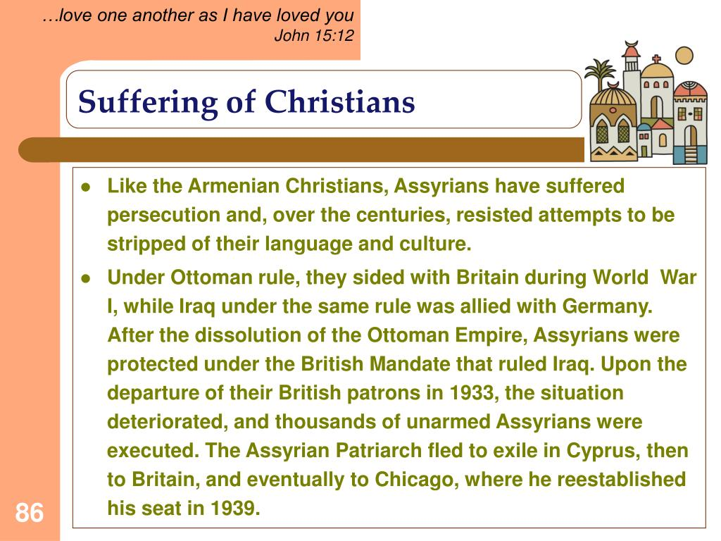 Suffering of Christians