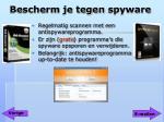 bescherm je tegen spyware