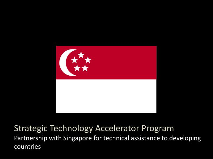 Strategic Technology Accelerator Program
